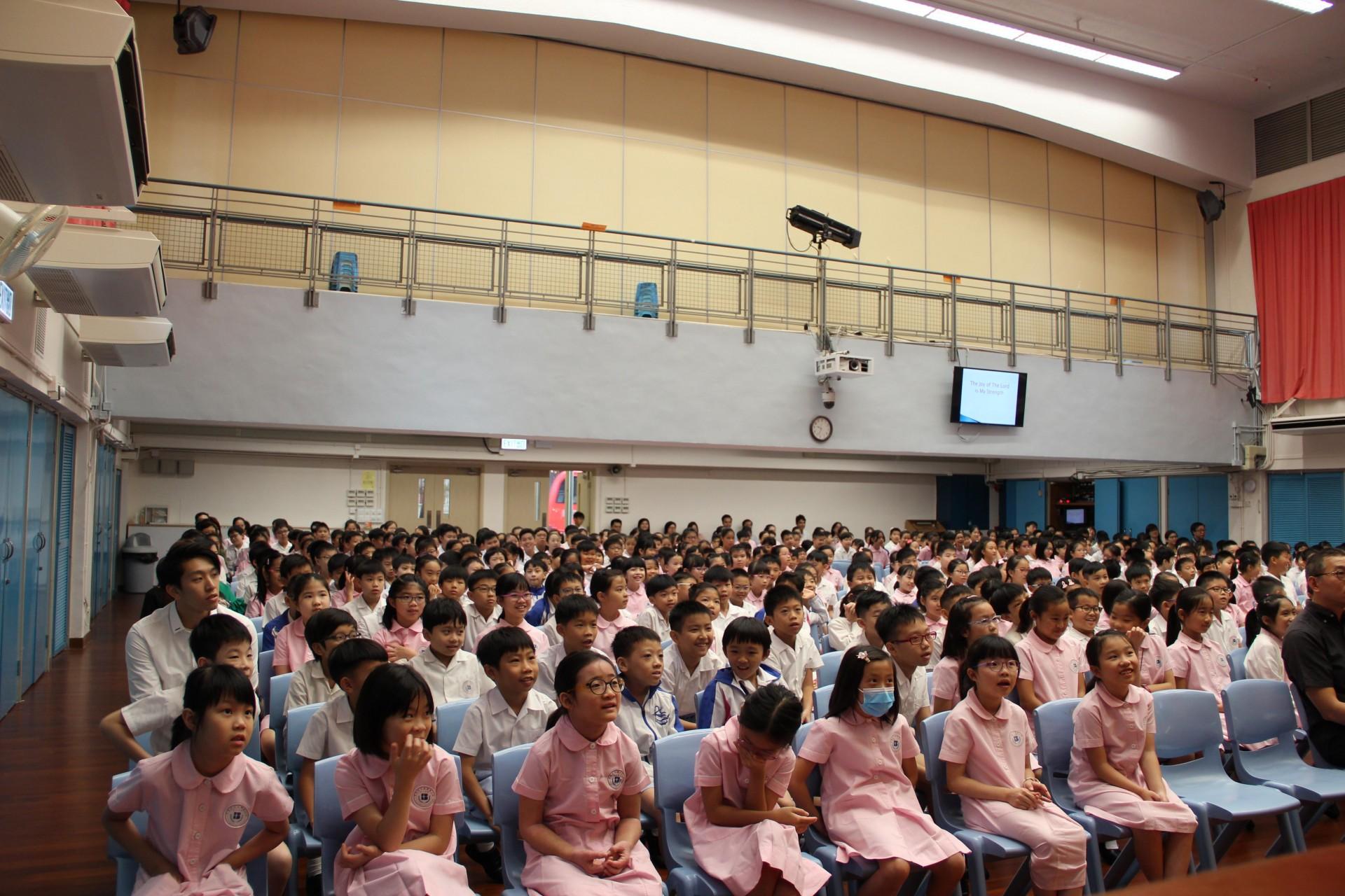 20190902 - 高年級開學禮