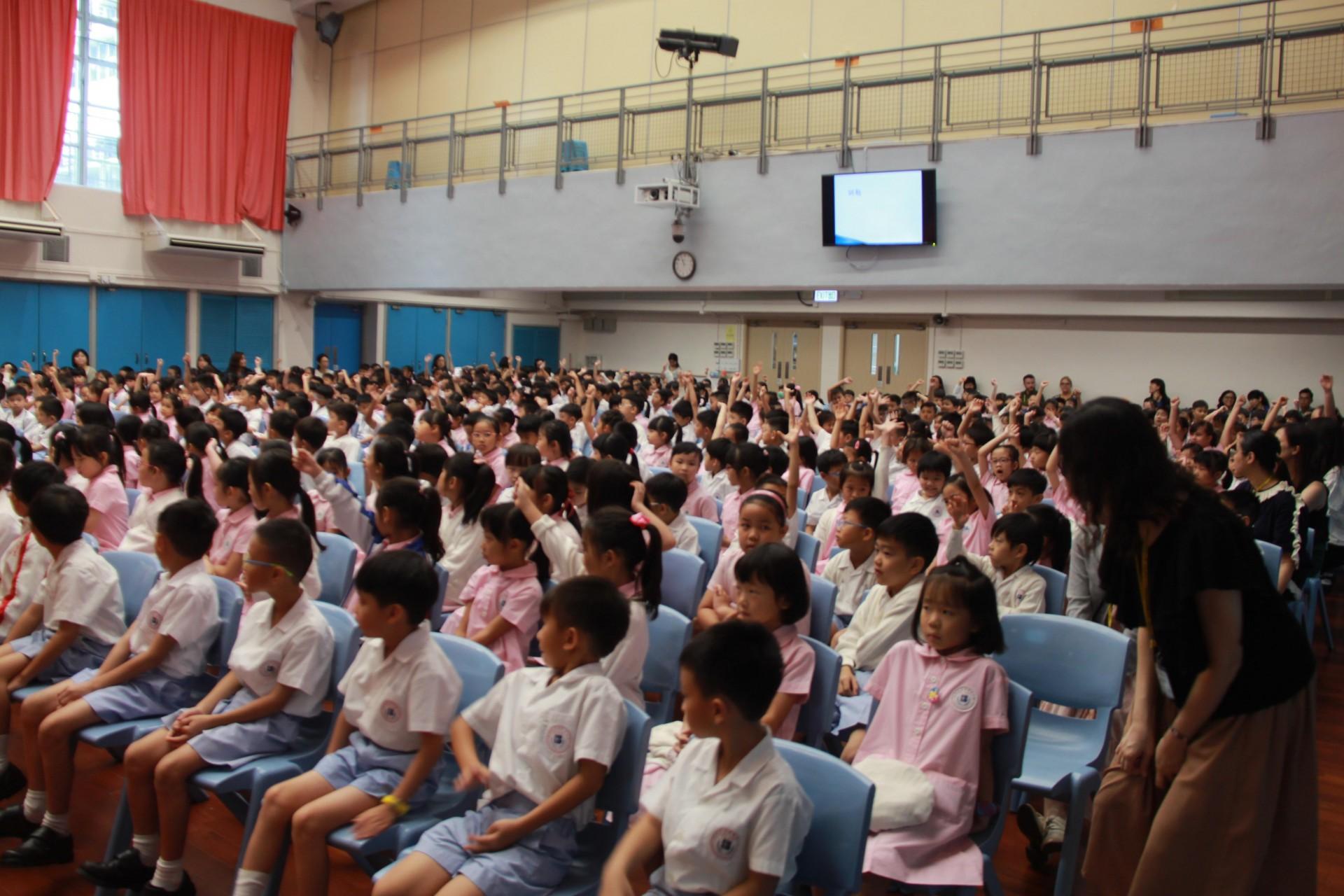 20190902 - 低年級開學禮